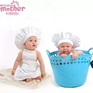 chef costume 6-12 months old
