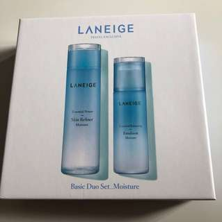 Laneige Basic Duo Set_Moisture