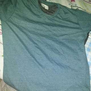 green t shirt 100% cotton