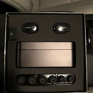 Sony WF-1000X Black True Wireless Earphones 真無線耳機