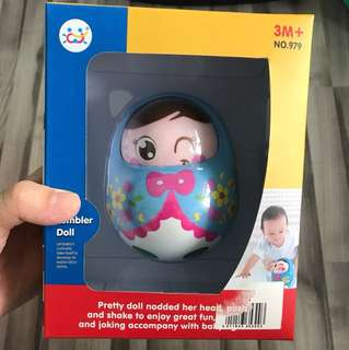 Baby Tumbler doll educational toy
