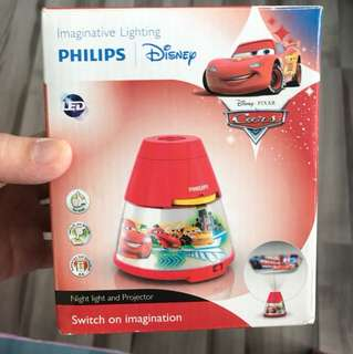 Philips Disney Cars Night light and projector