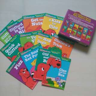 Clifford the big red dog (Pack 2)