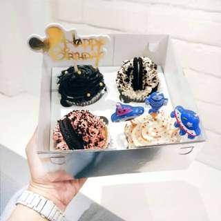 Cupcake Bisous