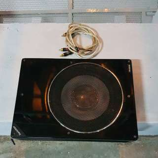 Subwoofer for underseat