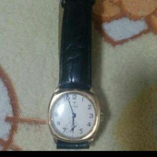 Tissot Gold plated winding Antique Watch. Selling off at $800nett.  Deal at yewtee mrt