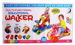 Multi-functional & educational Walker