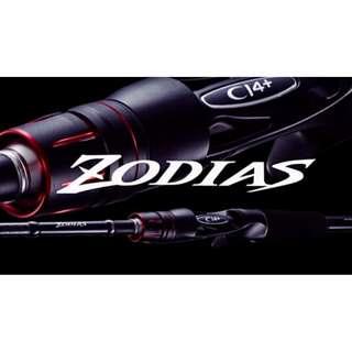 Shimano ZODIAS 160MH-2 Medium Heavy 6' bass fishing baitcasting 2 piece rod