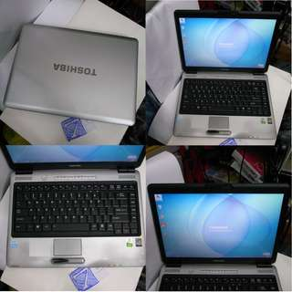 Toshiba Satellite L310 2Gb 160GB 14 Inch Laptop Notebook $165