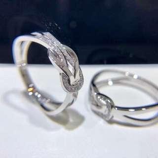 18K金鑽石戒指💍