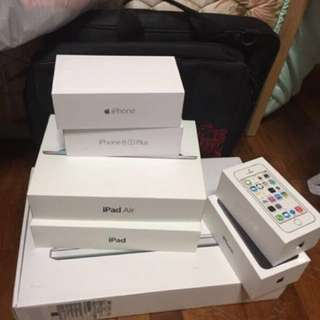 Original iphone box only without accesories