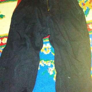 Seluar jeans black 2pcs