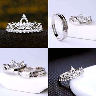 Crown ring for less