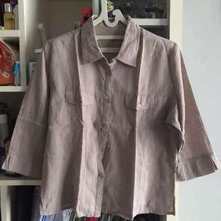 Brownish Grey Shirt