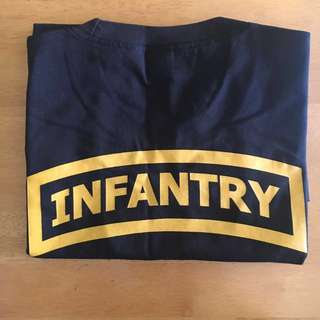 Army Black T-Shirt/Admin Tee