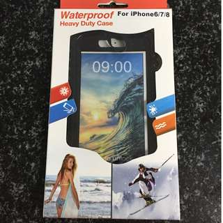 WATERPROOF Heavy Duty Case for IPhone 6/7/8