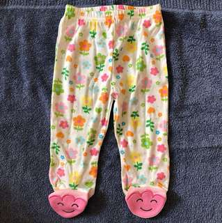 Baby Girl footed Legging (9mths)