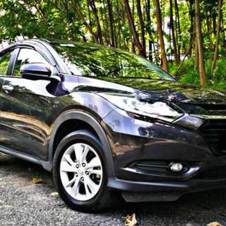 SAMBUNG BAYAR/CONTINUE LOAN  HONDA HRV 1.8 AUTO I-VTEC YEAR 2015 MONTHLY RM 1100 BALANCE 6 YEARS + ROADTAX DEC 2018 KEYLESS PUSH START BUTTON FULLSPEC, LED LIGHT TIPTOP CONDITION  DP KLIK wasap.my/60133524312/hrv