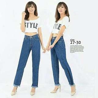 BC Patch Side Boyfriend Jeans