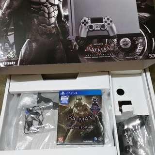Limited Edition Batman Arkham Knight PS4 500gb