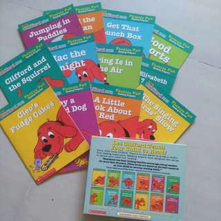 Clifford the big red dog (Pack 5)