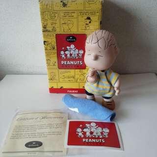 Hallmark Peanuts Snoopy's Friend Linus陶瓷限量版