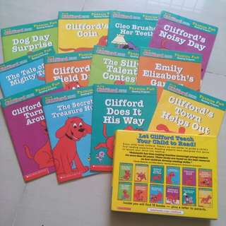 Clifford the big red dog (Pack 6)