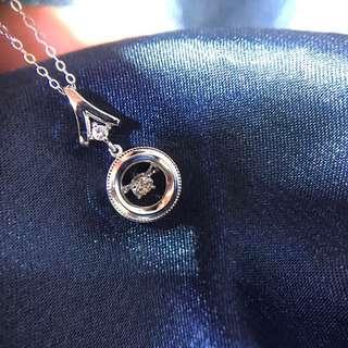 巴黎鐵塔鑽石套鍊