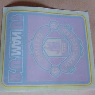 Sticker manchester united