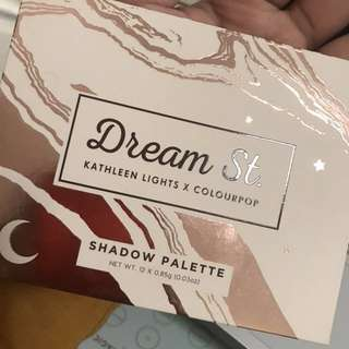 Price reduced: Colourpop Dream st Palette