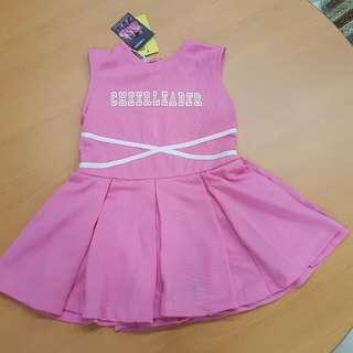 Cheerleader outfit 2yo