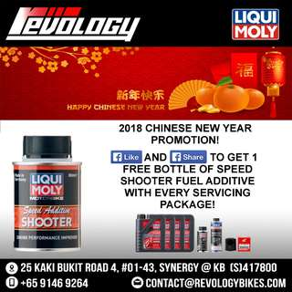 CNY Promo - Engine Oil Servicing