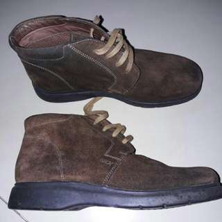 Leather Boots Geox Ori Import
