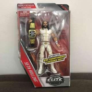 WWE Seth Rollins & Roman Reign Elite Figure