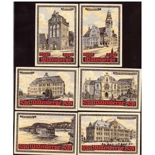 德國紙幣一套
