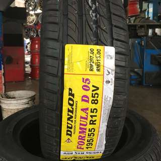 195/55/15 D05 Dunlop Tyre