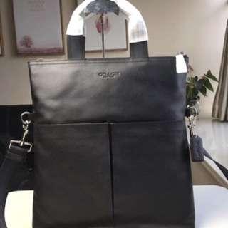 Authentic Coach men Messenger bag Handbag