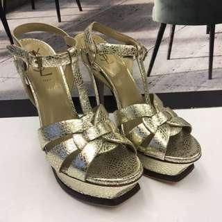 全新 Yves Saint Laurent Leather Sandals