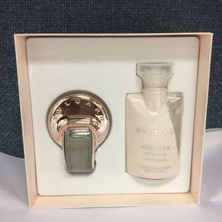 Bvlgaria perfume & body lotion set