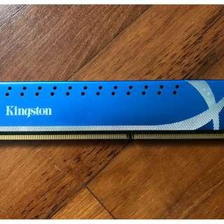 WTS: Kingston Technology Hyper X 4GB 1600MHz DDR3 Non-ECC CL9 DIMM (1*4GB Stick)