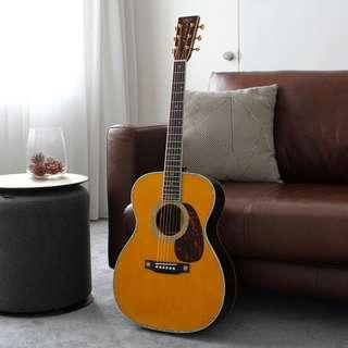 Martin 000-45EC Eric Clapton Crossroads Adirondack Madagascar Rosewood Acoustic Guitar