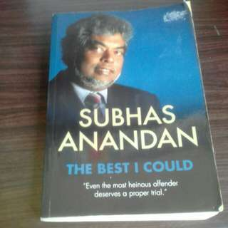 Subhas Anandhan:The best I could