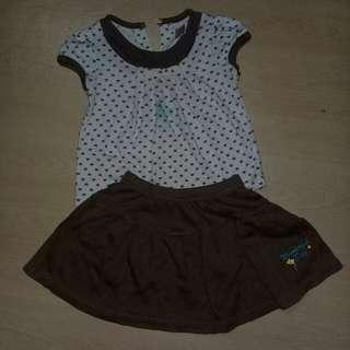 Skirt&shirt #15off