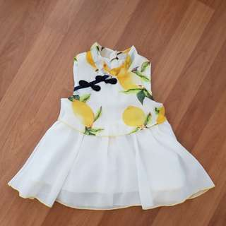 Baby Girl cheongsom Dress (1-2 yrs)