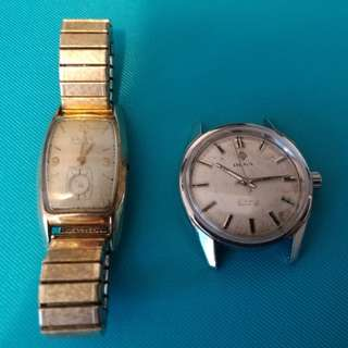 壞錶, 當零件賣 Vintage Watches (not working, sell as parts)