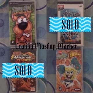 PSP Games (CMM-PSP)