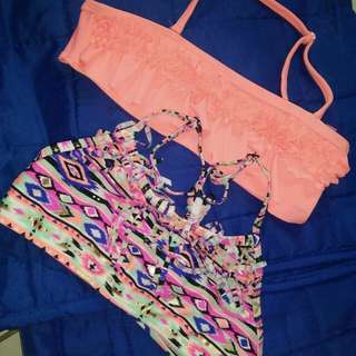 Swimsuit tops  2 for 150 #moveon