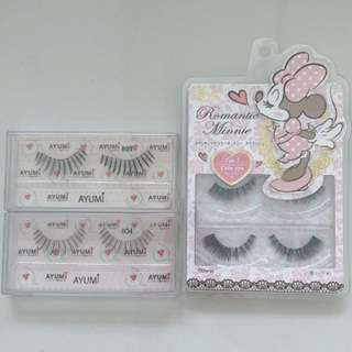 Brand new Romantic Minnie eyelashes