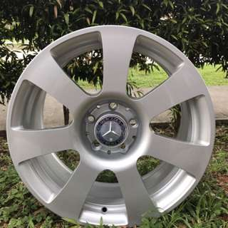17in PCD 5-112 Original Mercedes Forged Rims Sale