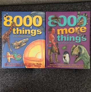 Science - 8000 more things you should know